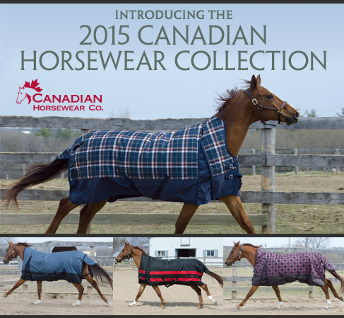 2015 Canadian Horsewear Co Collection