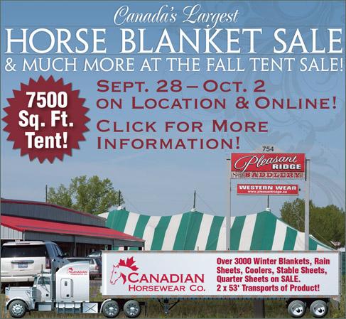 Pleasant Ridge Fall Tent Sale 2016