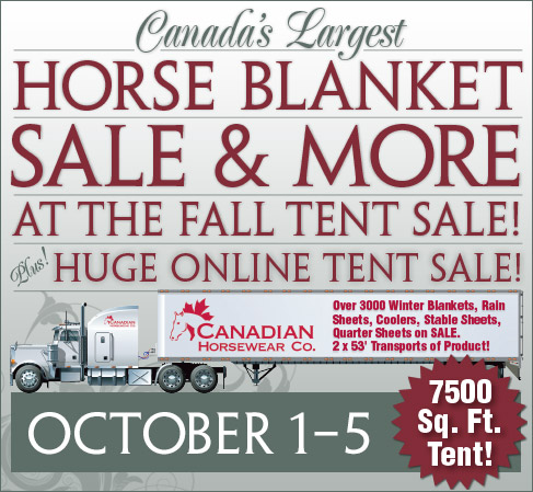 Pleasant Ridge Fall Tent Sale