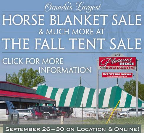 Pleasant Ridge Fall Tent Sale 2018