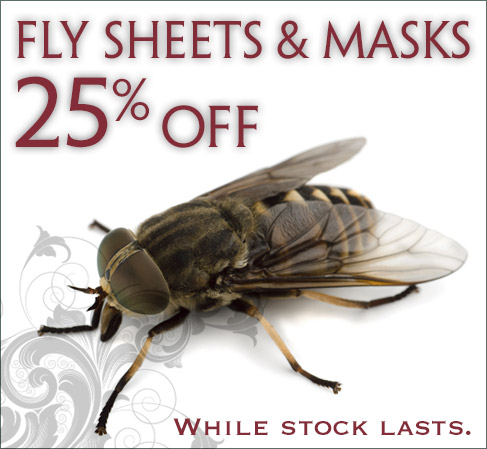 Fly Masks and Sheets 25% OFF