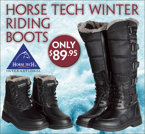 Horse Tech Winter Riding Boots