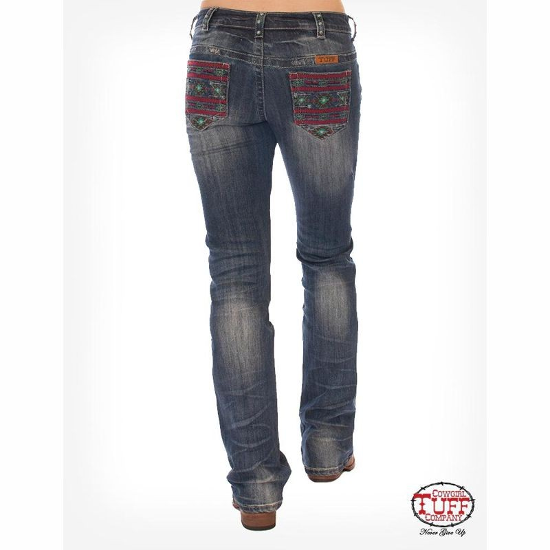 Ladies Cowgirl Tuff Apache Junction Jeans