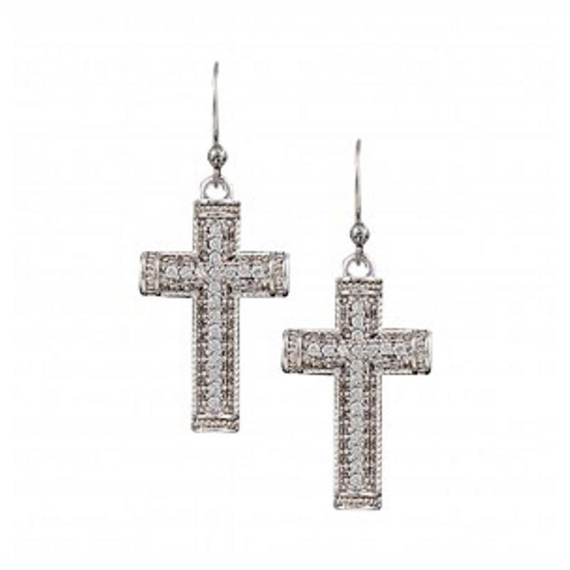 Montana Silver Cross Earrings