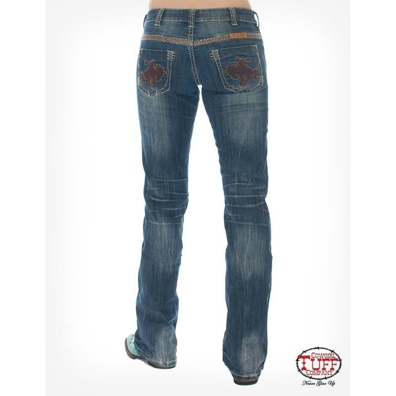 Ladies Cowgirl Tuff Wild and Wooley Jeans