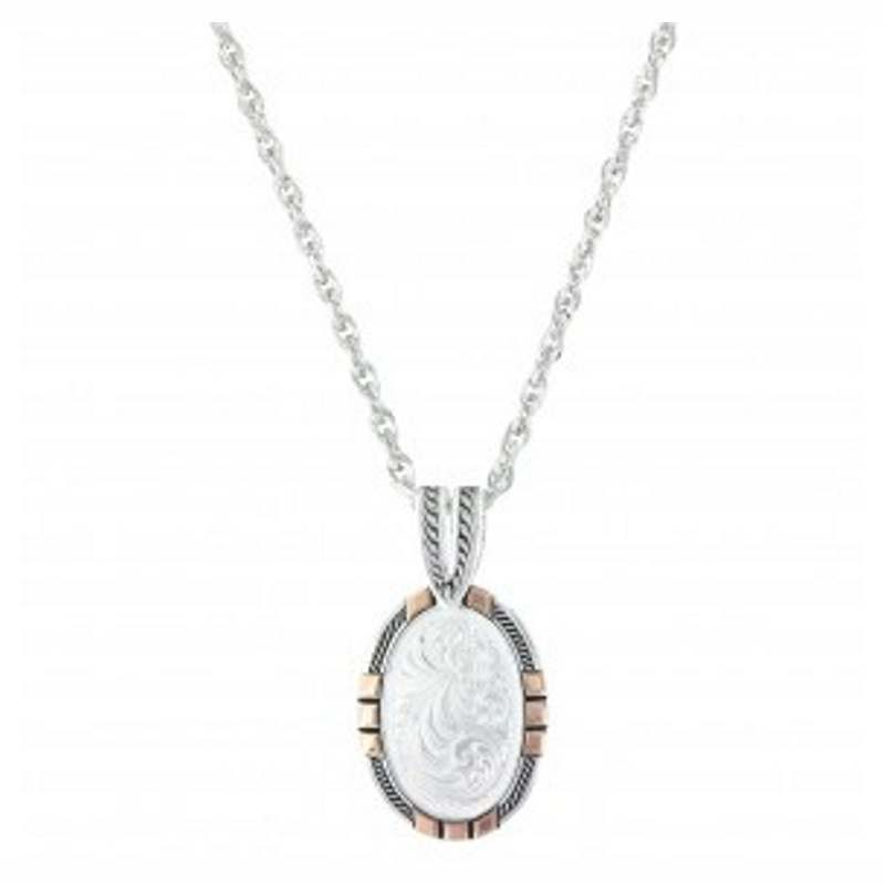 Montana Silver Traditional Rose Gold Necklace