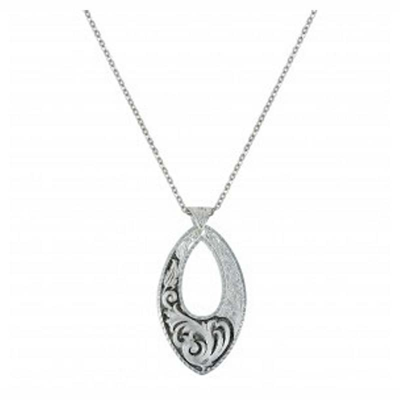 Montana Silver Deep Scroll Necklace