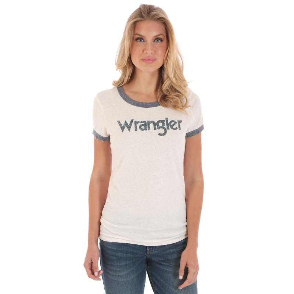 Ladies Wrangler Logo T-Shirt