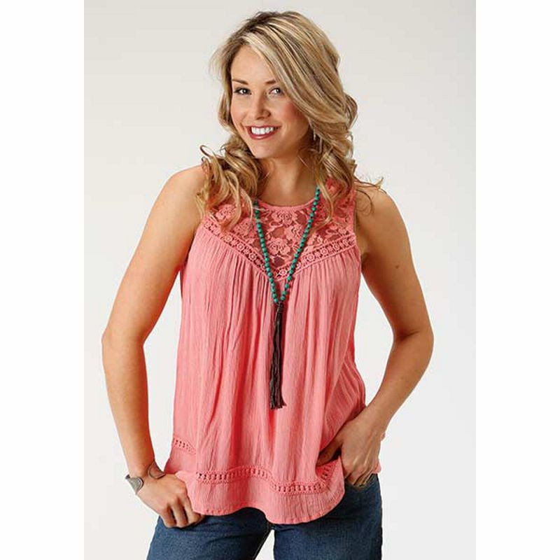 Ladies Roper Sleeveless Fashion Top