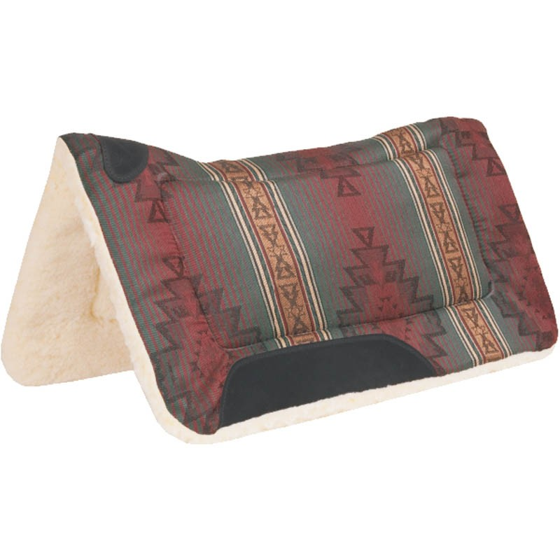 Sierra Herculon Contour Wither Relief Pad Rust Navajo Pattern