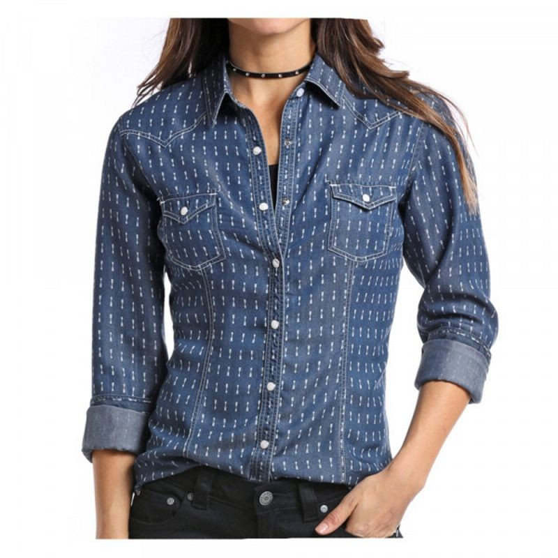 Ladies Panhandle Slim Western Shirt