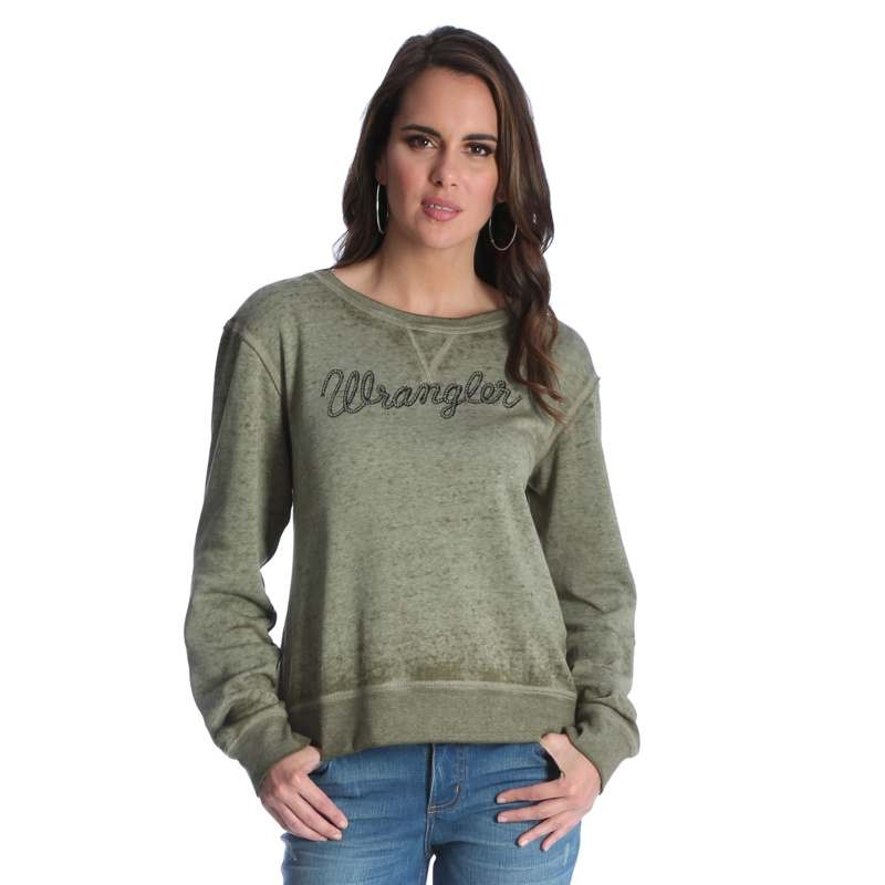 Ladies Wrangler Western Fashion Top #LWK727G