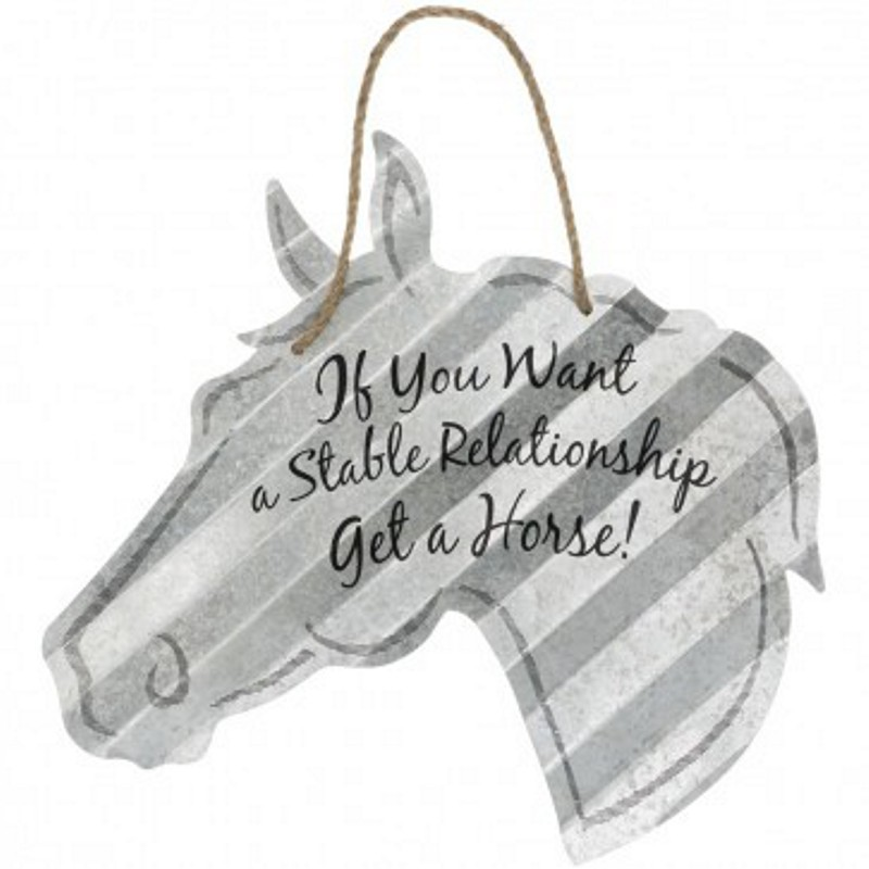 "Stable Relationship -5"" Sign"