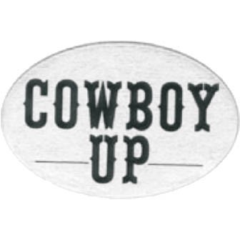HITCH COVER -COWBOY UP