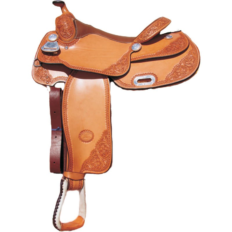 Case Design western leather cell phone cases : Home / Billy Cook Pro Reiner Saddle Hand Tooled Floral