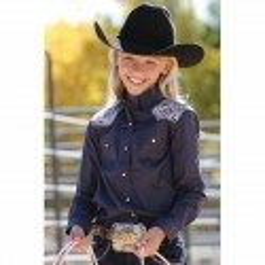 Girls Cruel Girl Western Shirt