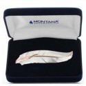 Montana Silver Rose Gold Accent Feather Barrett
