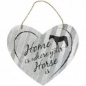 Home is Heart Sign- 5""