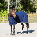 Navy Polar Fleece Sheet