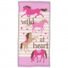 Hatley Kids Towel Hearts and Horses