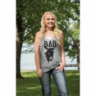 Ladies Cowgirl Tuff Racer Back Tank Top