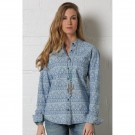 Ladies Charmbray Western Shirt