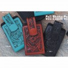 Austin Accents Floral Tooled Cell Phone Case