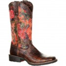 Ladies Durango Mustang Faux Exotic Boots