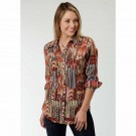Women's Roper Native Print Shirt
