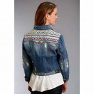 Stetson Women's Embroidered Jean Jacket