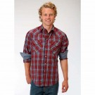 Men's Roper Plaid Western Shirt