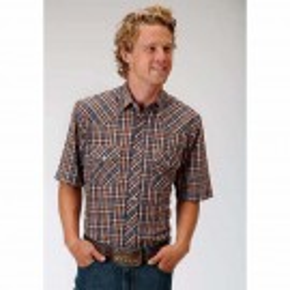 Men's Roper Plaid Short Sleeve Shirt