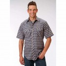 Men's Shortsleeve Roper Plaid Shirt