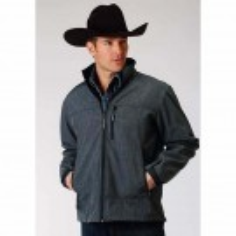 Men's Textured Outerwear Jacket