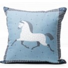 Dapple Grey Throw Pillow