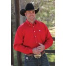 Men's Solid Print Cinch Shirt