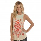 Rock and Roll Cowgirl Ladies Tank Top