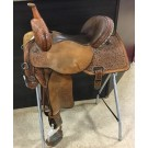 "Used 15"" Circle Y Ultimate Renegade Ty Mitchell Saddle"