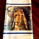 Blue Horse Tea Towel