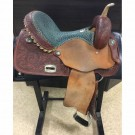 "Used 15"" Alamo Barrel Saddle"