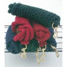 Braided Rope Lunge Line with Brass Chain