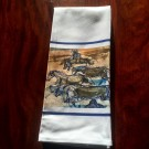 Running Horse Tea Towel