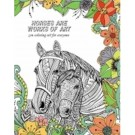 Tree Free Horse Lovers Colouring Book