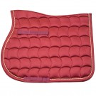 Lami-Cell Jewel Saddle Pad in Burgundy