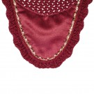 Lami-cell Jewelry Fly Veil-Burgundy