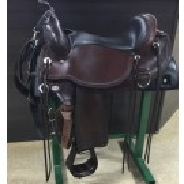 "Used 17"" Circle Y Omaha Flex2 Trail Saddle"