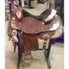 "Used 16"" Tex Tan Show Saddle"
