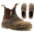 Blundstone Safety Boot Brown #162