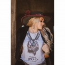 Coyote Cowgirl West is Still Wild Shirt