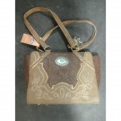 Justin Brown Inlay Handbag